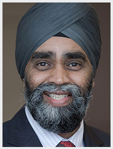 The Honourable Harjit Singh Sajjan